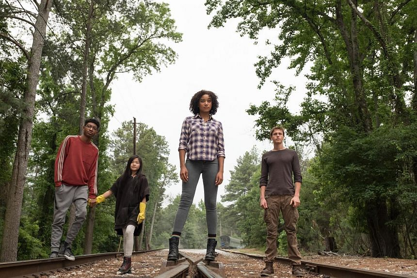 Cinema still of The Darkest Minds. The film is based on the young adult novel series of the same name by Alexandra Bracken.
