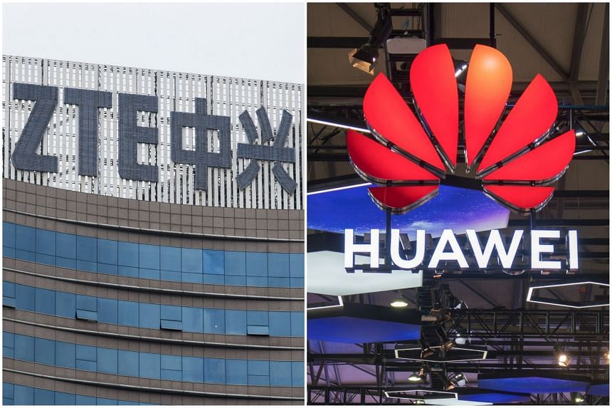 Devices made by Chinese telecommunications companies ZTE Corp and Huawei Technologies have been deemed as security risks to the November elections in the US by the Democratic National Committee.