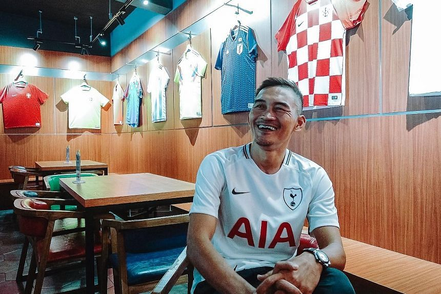A lucky Tottenham fan will earn a trip for two to visit the club's new stadium at White Hart Lane with ex-national captain Nazri Nasir.