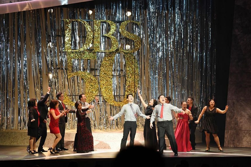 The musical Sparks tells the story of Chester Teo and is a microcosm of the story of DBS, which celebrated its 50th anniversary at the Capitol Theatre.