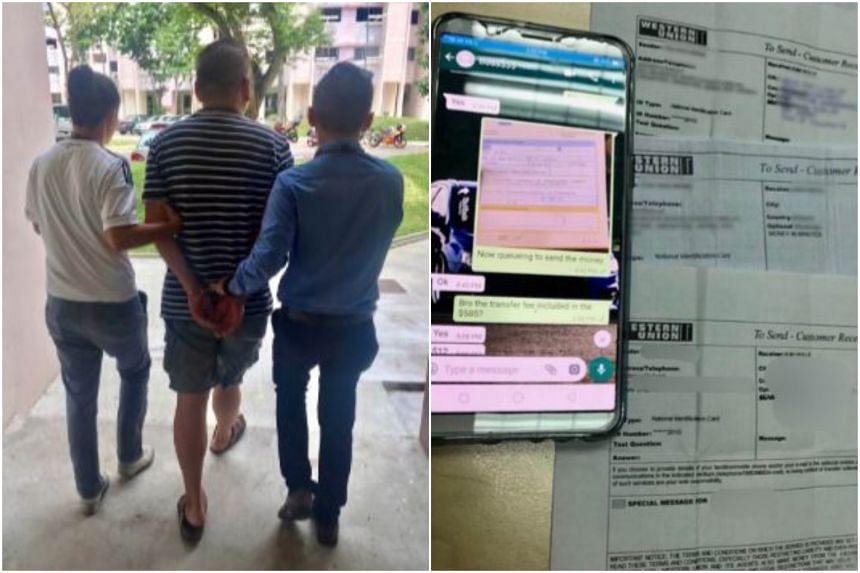 30 men and 25 women have been rounded up by the police in a five-day operation conducted by Bedok Police Division.