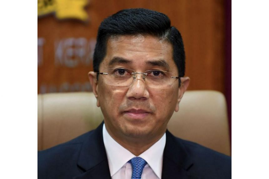 Malaysia's Economic Affairs Minister Mohamed Azmin Ali is believed to have arrived in Singapore on Aug 4, 2018.