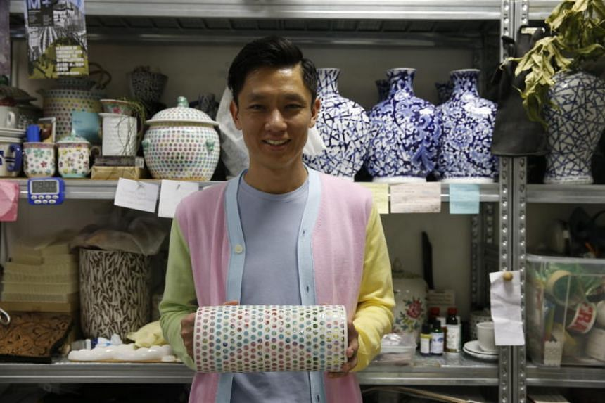 Hans Tan is known for works such as his Spotted Nyonya collection of vessels which re-interpret local themes.