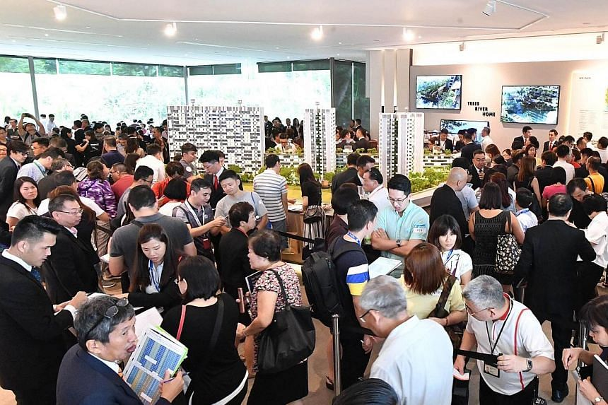 Over 70 per cent of the 200 units released in Phase 1 were sold at the launch of The Tre Ver last Saturday. A total of 150 units were released in Phase 2 yesterday.