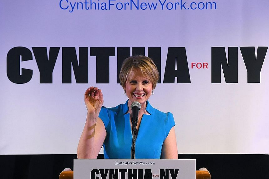 Former Sex And The City actddress Cynthia Nixon is running for New York governor.