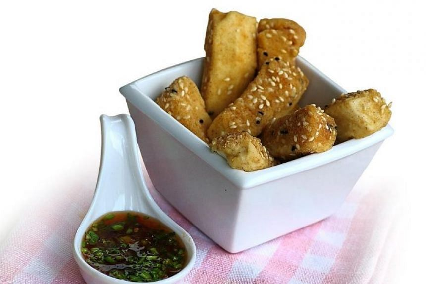 Amy Beh's recipes for beancurd snacks.