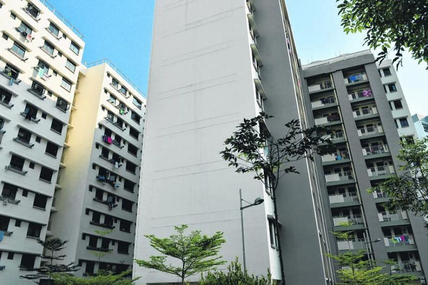 Rental flats at Champions Way in Woodlands. About 50,000 households live in public rental flats currently.