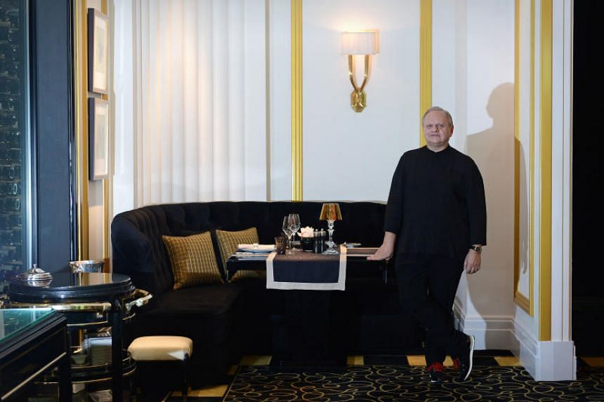 Robuchon, who owned and ran gourmet restaurants in three continents, died in Geneva, his staff said.