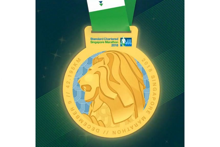 The new medal features Singapore's icon, the Merlion, commemorating the race's prominence in Singapore's sporting calendar and celebrating national pride and excellence.