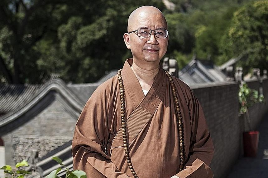 Master Xuecheng, head of the Buddhist Association of China and abbot of Beijing's Longquan monastery, was accused of having threatened six nuns to have sex with him.