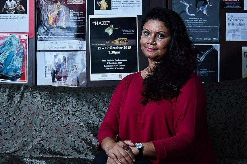Maya Dance Theatre artistic director Kavitha Krishnan wants the dance work Flowers Don't Bloom All The Time to look forward to healing.