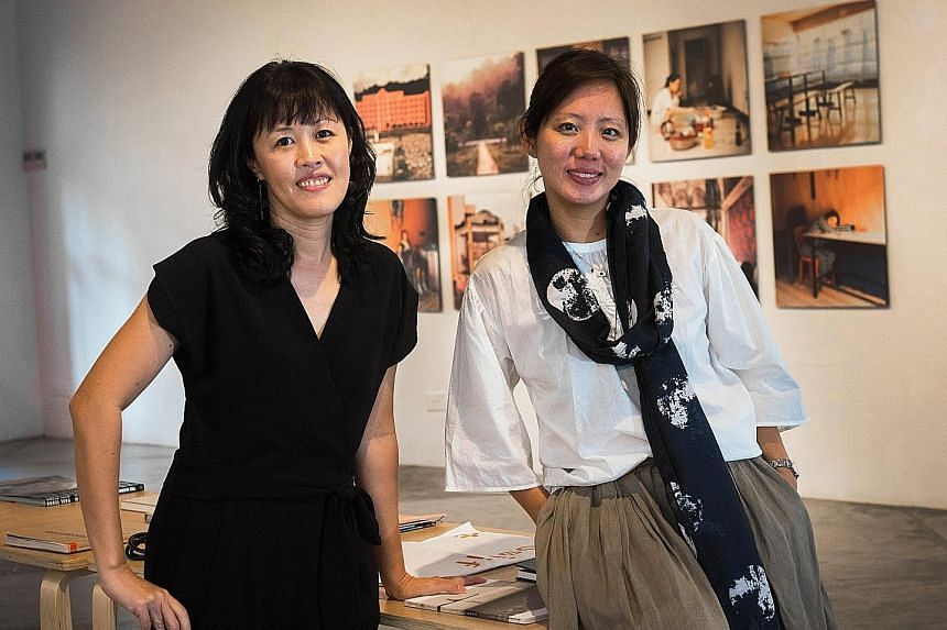 Objectifs director and co-founder Emmeline Yong (left) and fellow director Yuni Hadi.
