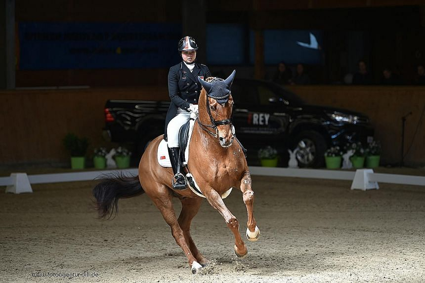 """Singaporean Caroline Chew describes the World Equestrian Games as her sport's """"equivalent to football's World Cup""""."""