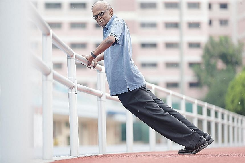 Brisk-walking enthusiast Veerappan Veerappan is rejoining the ST Run this year, after being sidelined last year due to health problems.