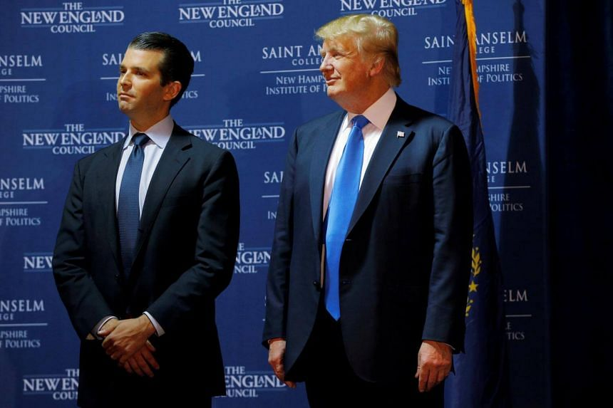 US President Donald Trump is worried that Mr Trump Jr may have unintentionally stumbled into legal jeopardy.