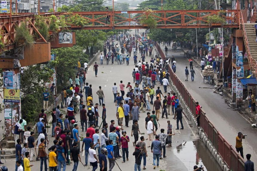 The nine days of protests saw tens of thousands of teenagers and students paralyse traffic in the capital Dhaka and beyond.