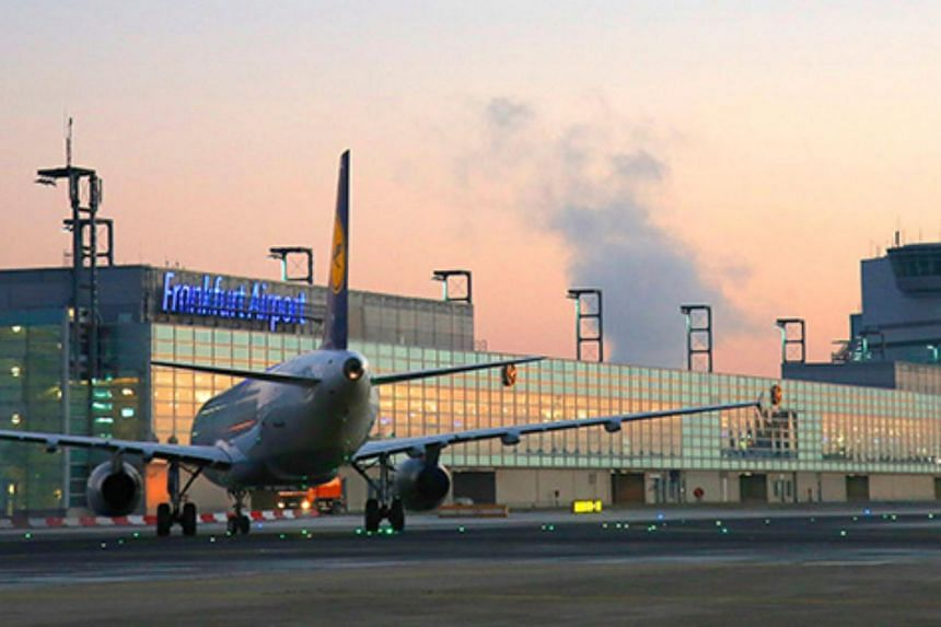 German airline Lufthansa, whose main hub is in Frankfurt, said on Twitter that boarding had been stopped at the A and Z levels of the airport's Terminal 1.