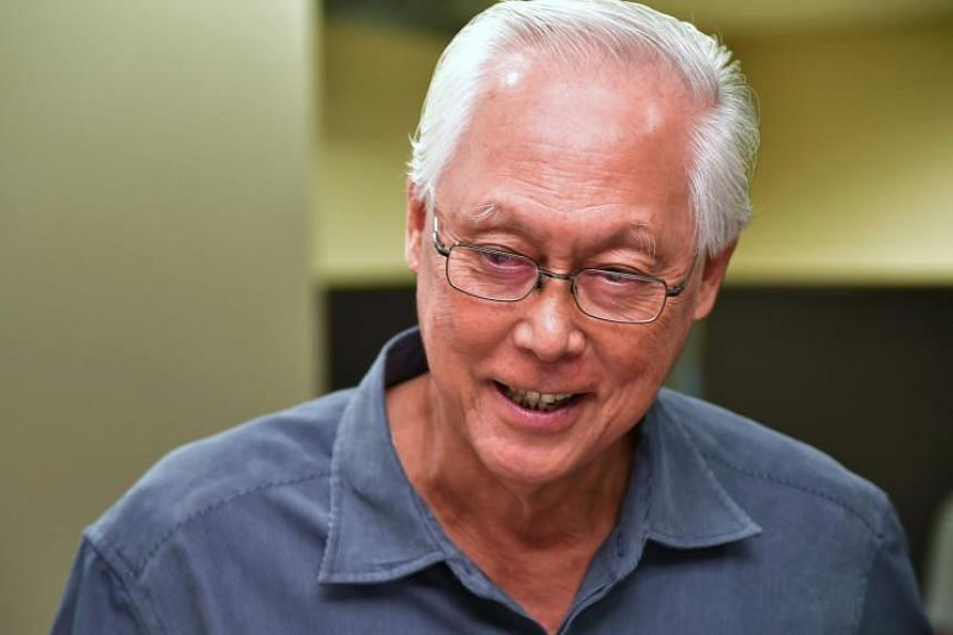 Emeritus Senior Minister Goh Chok Tong at the annual South East District Conference at NTUC Centre on Aug 2, 2018.
