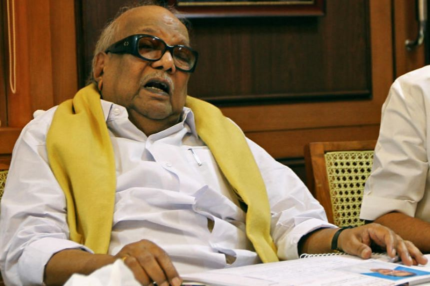 Political leader Muthuvel Karunanidhi was chief minister of Tamil Nadu five times and successfully contested 12 state elections, building legions of supporters on the way.