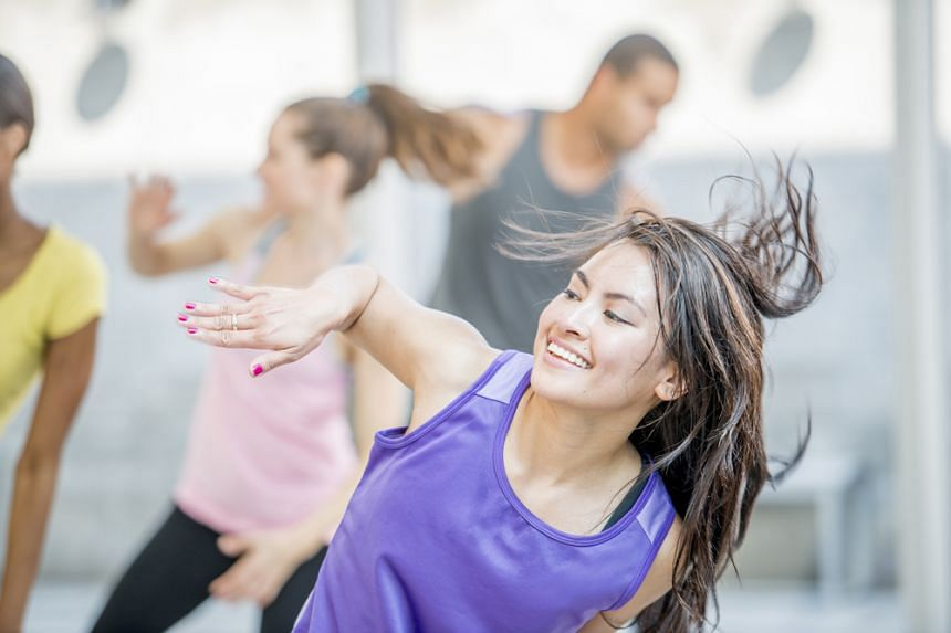 HPB Woman physical exercise