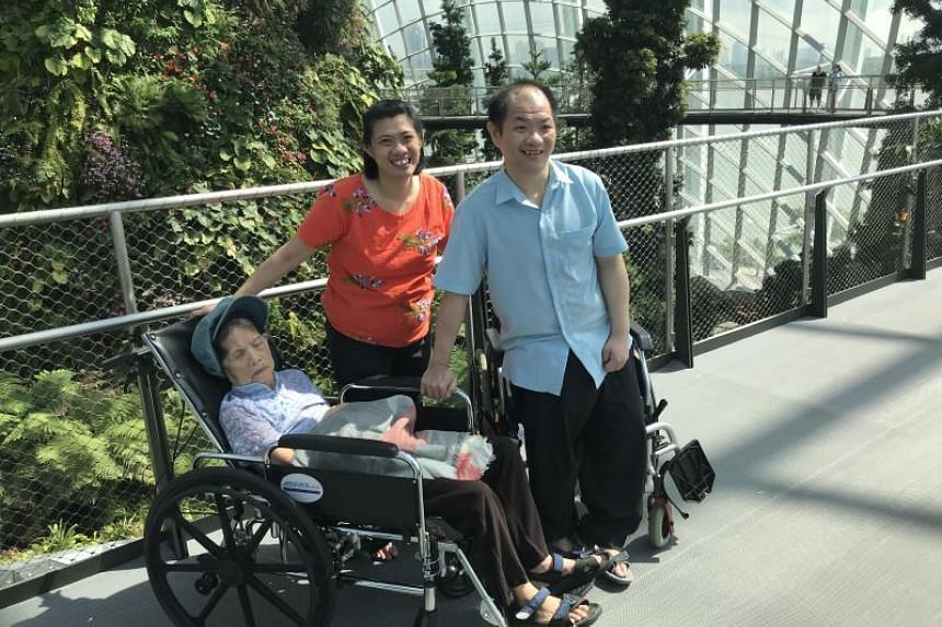 Before he suffered a stroke at the age of 43, Alex Ten was the sole breadwinner of his family, taking care of a younger sister with an intellectual disability and a mother who suffers from stroke and dementia.