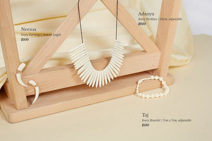 Ivory Lane Singapore, which launched on Facebook on July 31, 2018, supposedly sold accessories made from elephant ivory.