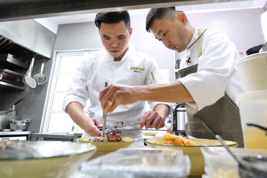 All Ray Ho wants is to cook a meal for his divorced parents to savour together. But for the 22-year old culinary student, this is no easy feat, despite his training at Shatec.