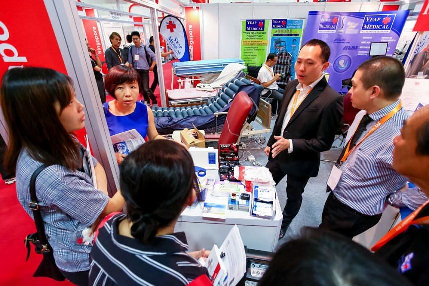 MEDICAL FAIR ASIA 2018 is back with its biggest showcase in medical innovation to meet rising healthcare demands. PHOTO: MESSE DÜSSELDORF ASIA