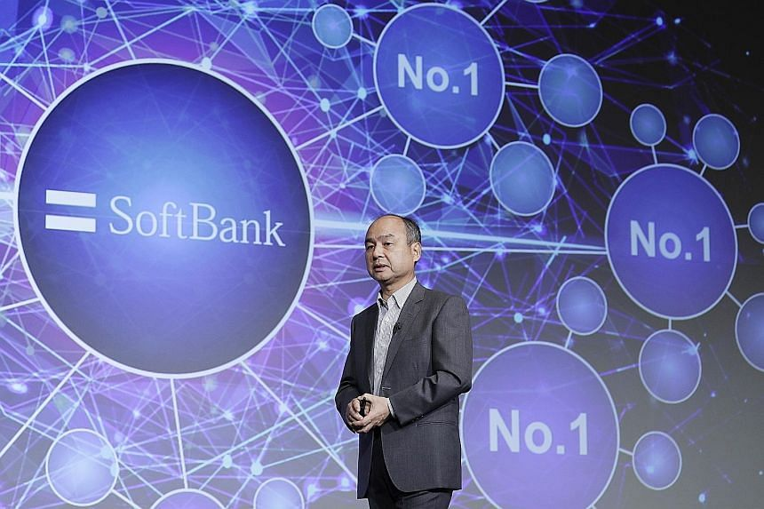 SoftBank founder Masayoshi Son has recently begun turning SoftBank into a giant investment portfolio while looking to offload mobile assets.
