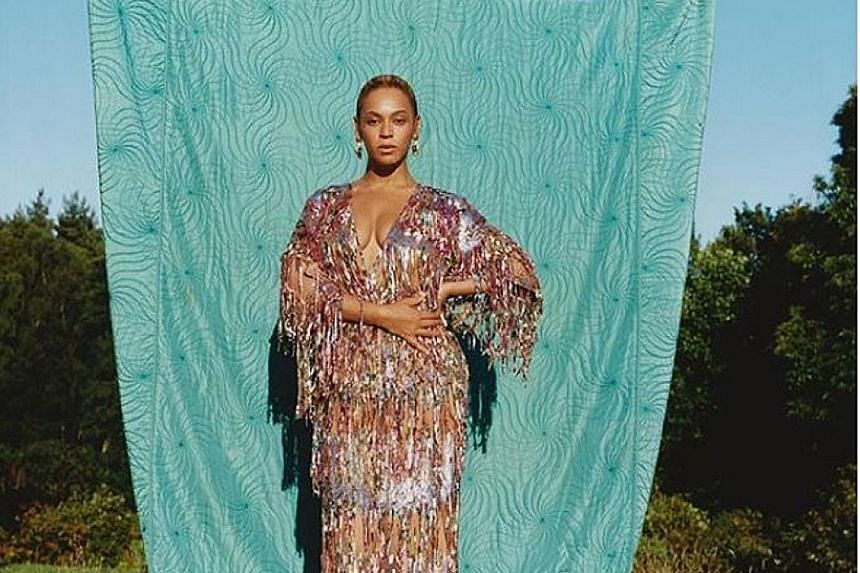 Pop star Beyonce called for a greater acceptance of naturally curvy figures and said she is listening more to her body after giving birth to twins last year.