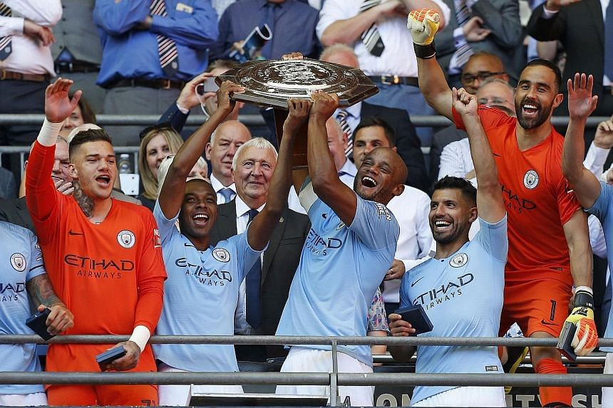 After winning last season's Premier League by 19 points, Manchester City show they are up to it again this season by lifting the FA Community Shield after defeating Chelsea 2-0 last Sunday.