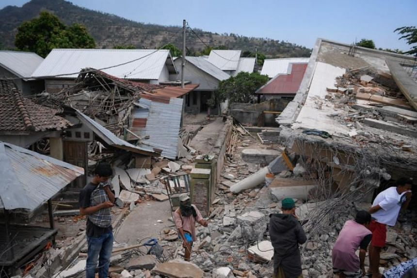The quake killed 105 people and 236 were severely injured. Thousands have been made homeless.