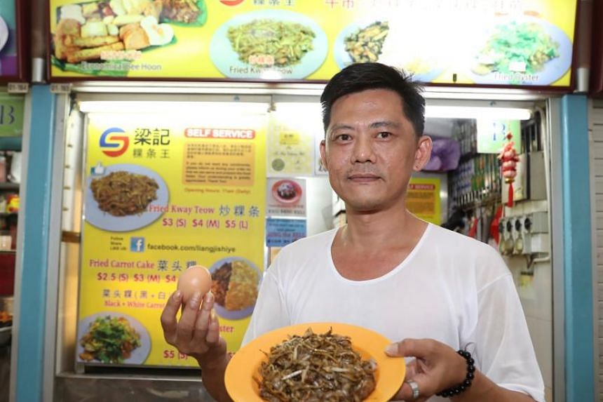 Mr Dominic Neo, who runs Liang Ji Kway Teow King in New Upper Changi Road, wanted to let the younger generation experience how their grandparents ordered char kway teow in the past.