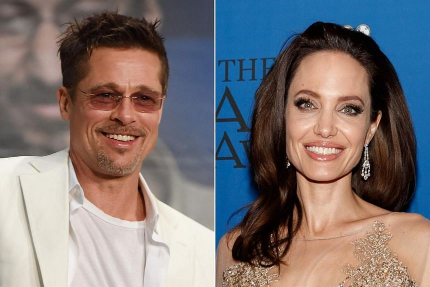 """Hollywood actor Brad Pitt (left) is going through a bitter divorce with Angelina Jolie, who claims that he has """"paid no meaningful child support since separation""""."""