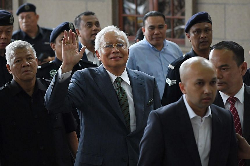 It is Malaysia's former prime minister Najib Razak's second appearance in a Malaysian court since he was defeated in national elections in May.