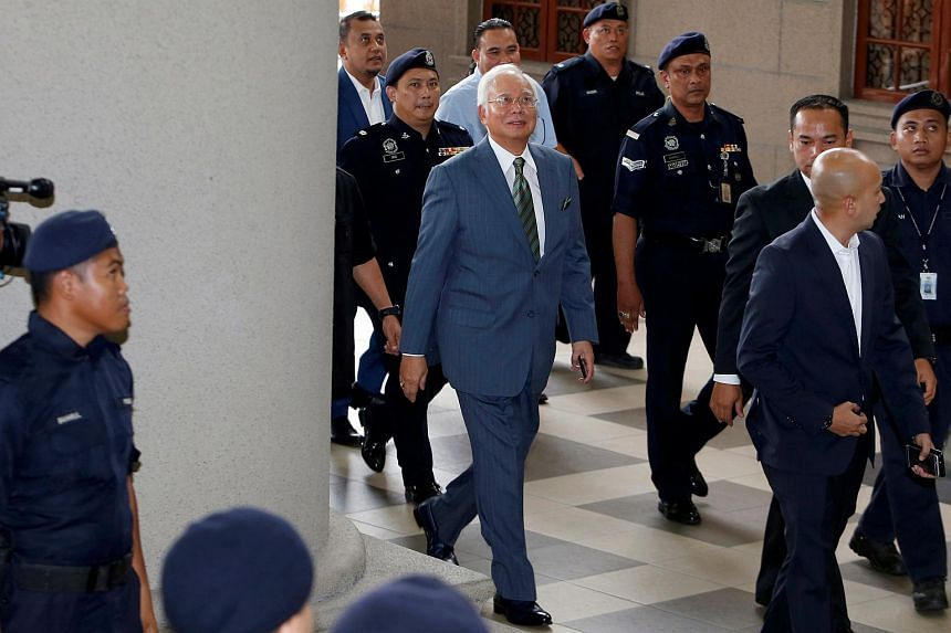 Najib Razak is the first Malaysian prime minister to have been charged in court.