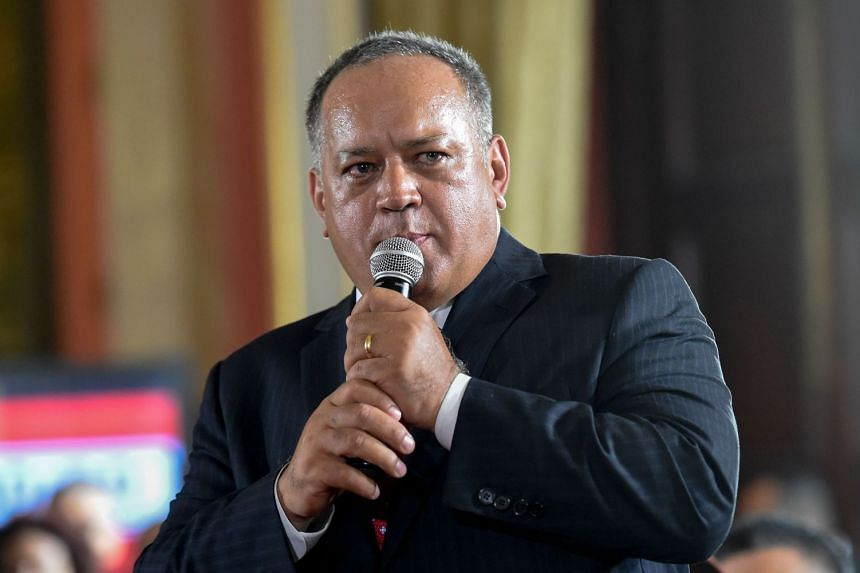 Constituent Assembly chief Diosdado Cabello has called for lawmakers to be stripped of their parliamentary immunity in order to face trial for the alleged bid to kill the president.