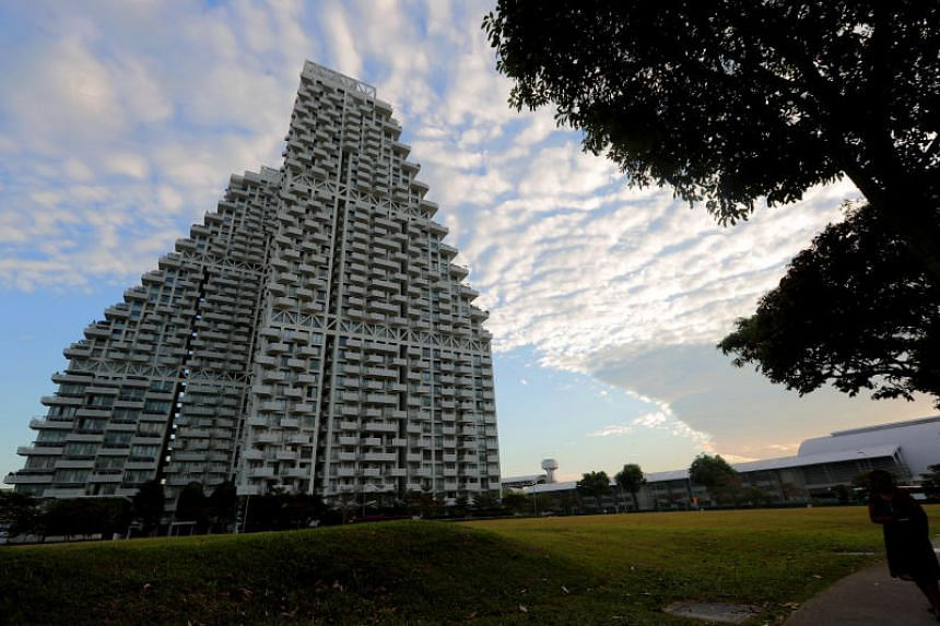 Sky Habitat in Bishan was among development projects which contributed to CapitaLand's revenue for the quarter.