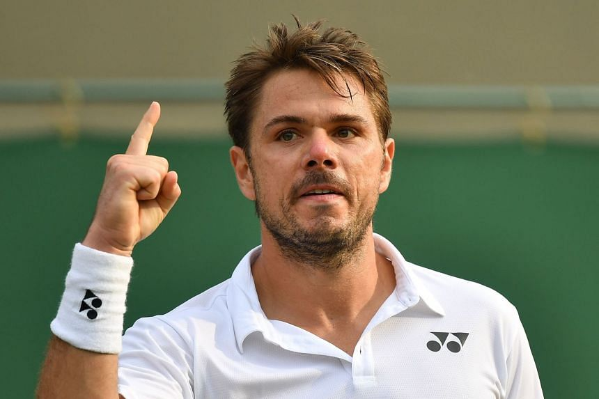 Wawrinka (above) has been struggling to find his best form following two knee operations.