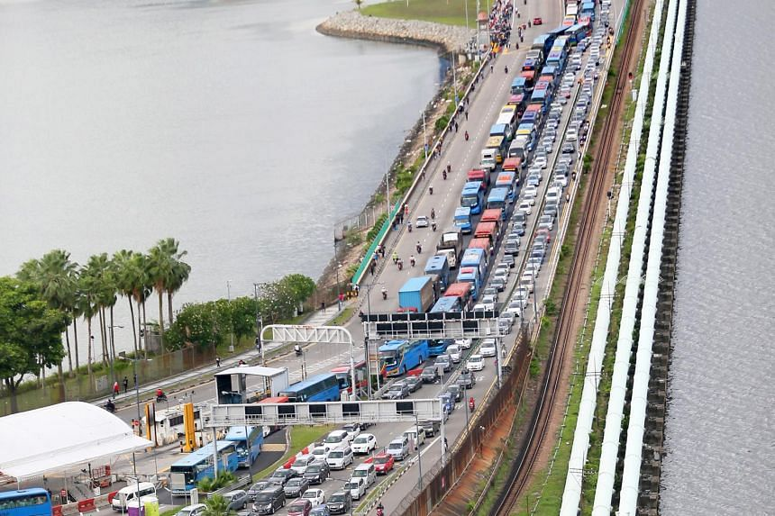 Johor Mentri Besar Osman Sapian said congestion at the Causeway had reached a point where something must be done to address the matter.