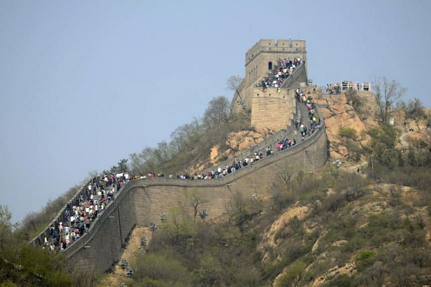 """Airbnb offered overnight lodging in September for one Airbnb user and a companion in a """"room"""" transformed from a torch tower on the Great Wall, but faced an online backlash from people worried that it could damage the site."""