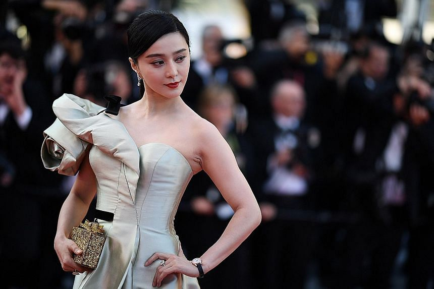 Chinese actress Fan Bingbing has not appeared in public since she was recently involved in a storm over her alleged inking of two contracts in a bid to avoid paying taxes.