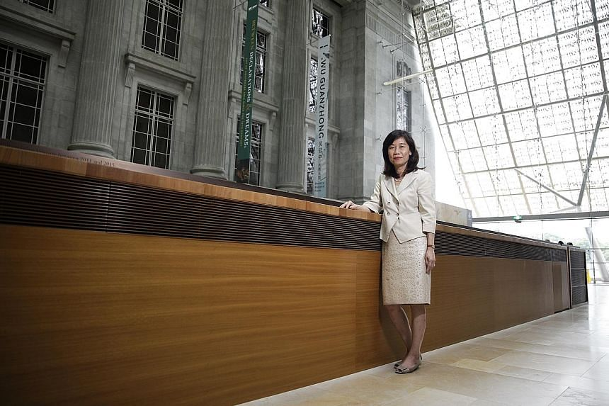 Mrs Rosa Huey Daniel has been involved in major developments in the arts and culture sector, including the opening of the National Gallery Singapore.