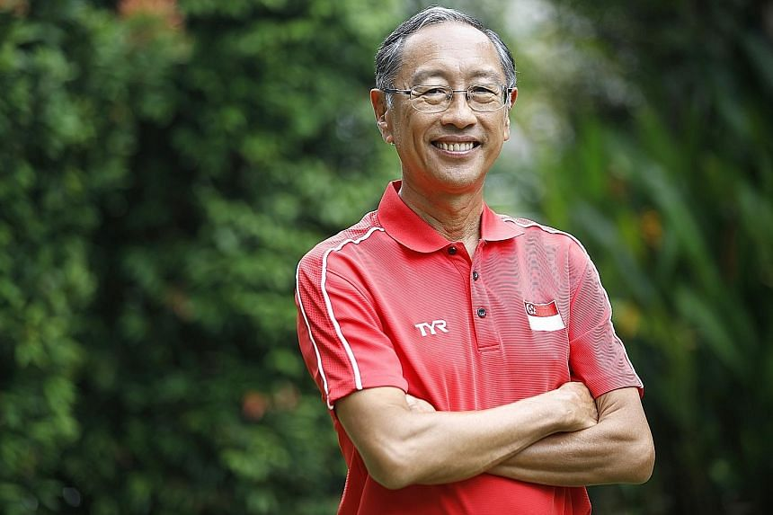 Mr Lee Kok Choy, president of the Singapore Swimming Association, is among 58 recipients of the Public Service Star.