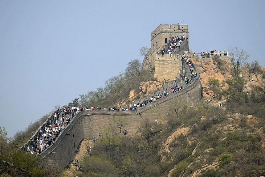 Chinese officials did not approve an Airbnb event where four contest winners were to have spent the night on the Great Wall.
