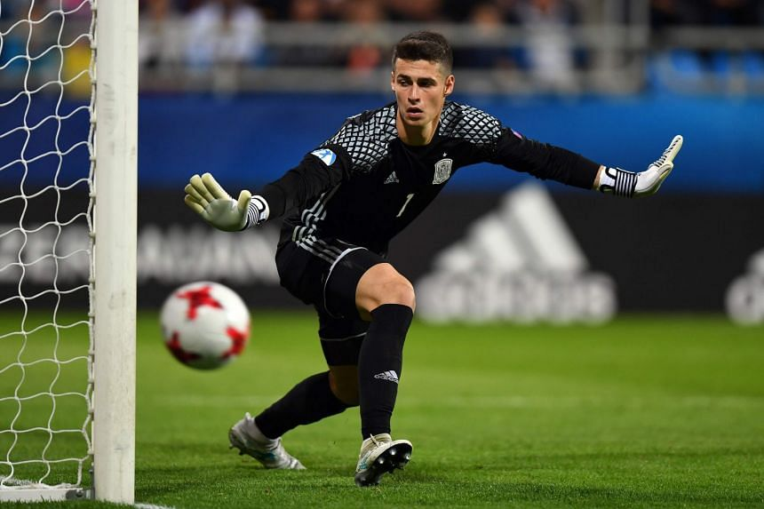 Spain's Kepa Arrizabalaga, 23, has signed a seven-year deal with the English giants.