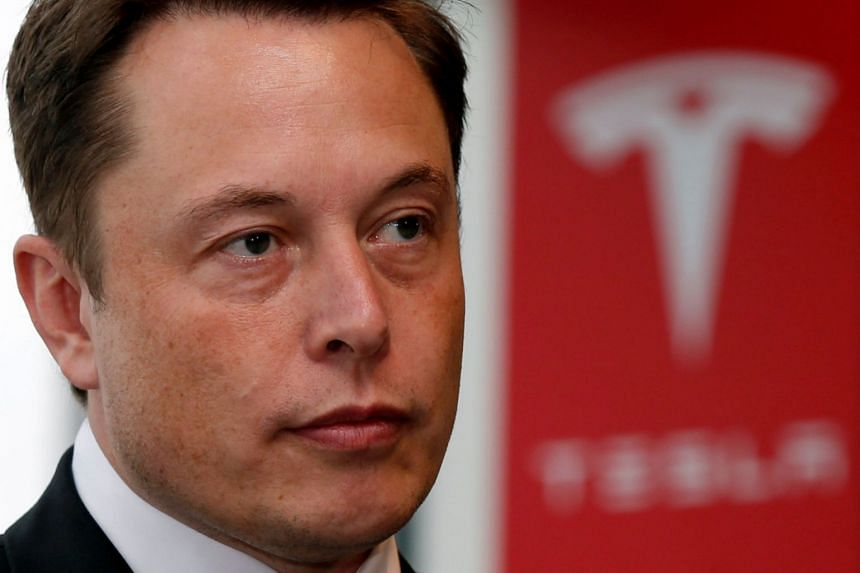 Tesla faces an SEC probe after a tweet by chief executive Elon Musk (above).