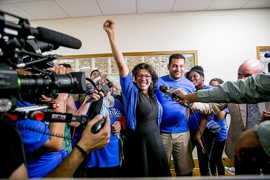 Ms Rashida Tlaib is a former Michigan state legislator and the daughter of Palestinian immigrants. Her calling card is the no-holds-barred way in which she has engaged voters from traditionally marginalised backgrounds.