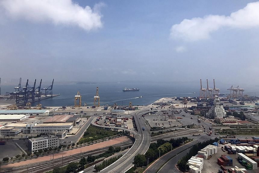Dalian port, the most northern ice-free port, can operate year-round, even during China's frigid winter months. It is at the heart of Liaoning's plans to be the logistics and trading hub of the North-east Asia region, moving goods from Japan and Sout