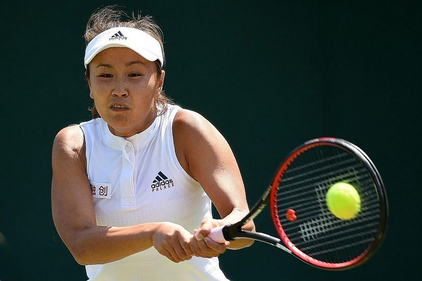 China's Peng Shuai, the top-ranked doubles player in February 2014, has two singles and 21 doubles titles.
